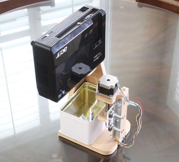 Maker Faire   DLP 3D Printer