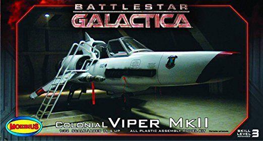 Moebius 1: 32échelle Battlestar Galactica Viper MKII Kit