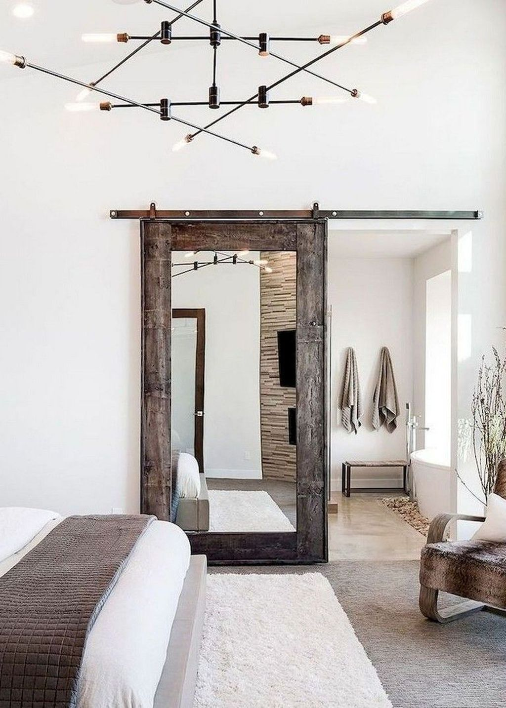 38 Fabulous Modern Farmhouse Bedroom Decorating Ideas Bedroom Decorating Fabulo In 2020 Farmhouse Bedroom Decor Modern Rustic Master Bedroom Rustic Master Bedroom