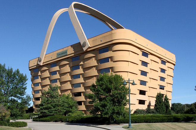 Built In 1997, The U0027basket Buildingu0027 In Newark, Ohio, Houses The