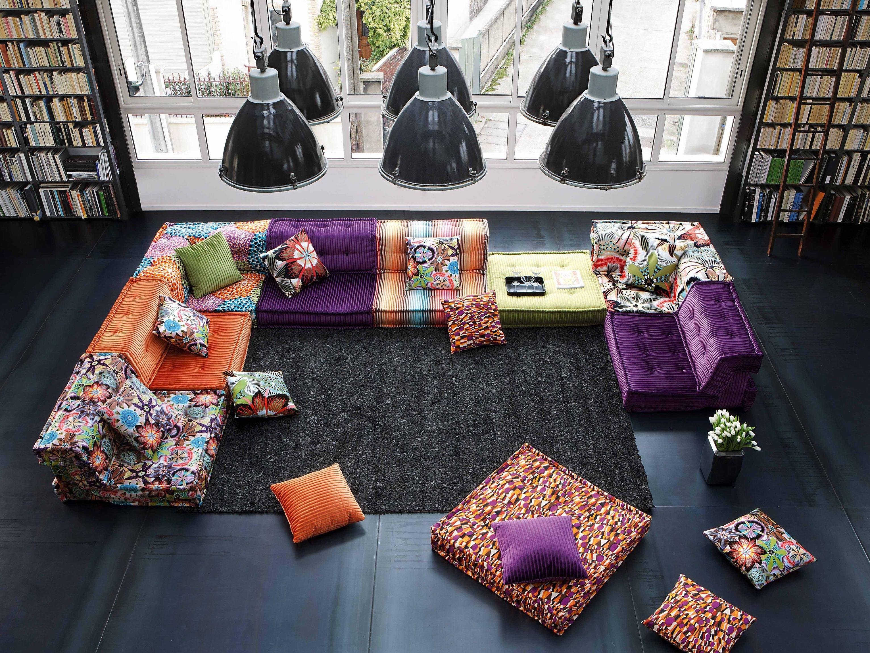t l chargez le catalogue et demandez les prix de mah jong missoni home by roche bobois canap. Black Bedroom Furniture Sets. Home Design Ideas