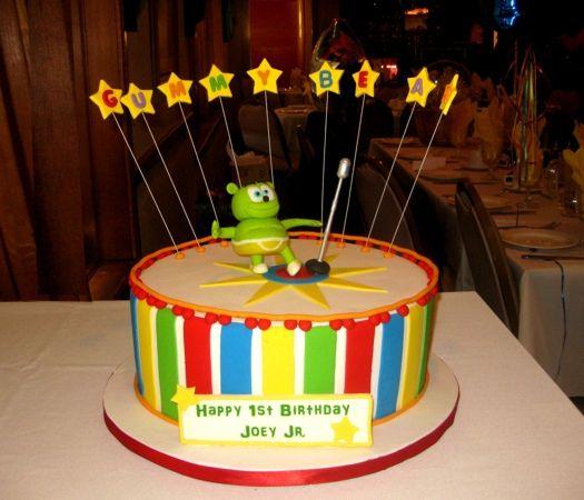 Gummy Bear Birthday Cake Bear Birthday Happy Birthday Cakes