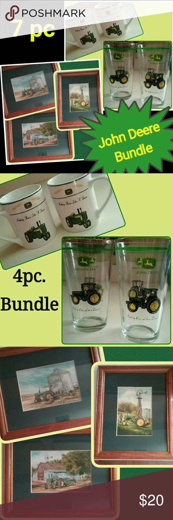 John Deere Home Decor Bundle My Posh Closet Pinterest Home