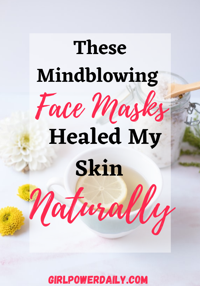 Photo of These Homemade Face Masks Healed Amy Skin Naturally