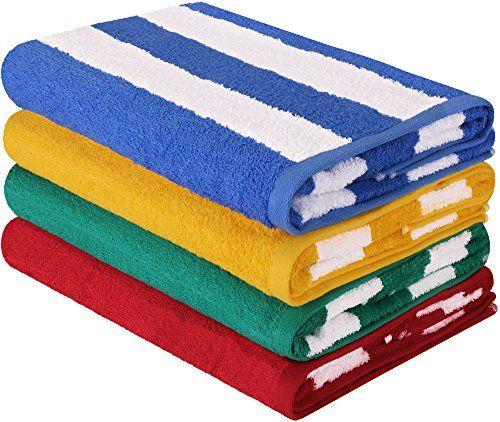 Utopia Towels Premium Quality Cabana Beach Towels Pack Https