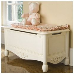Antique White Toy Chest By Green Frog Art White Toy Chest Toy Boxes Antique White Furniture