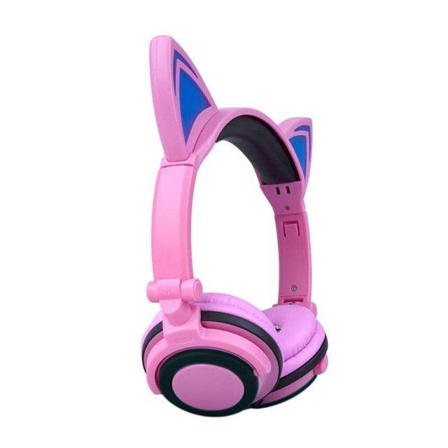 LED Wired Cat Ear Headset   Products   Pinterest   Cat ears, Headset ...