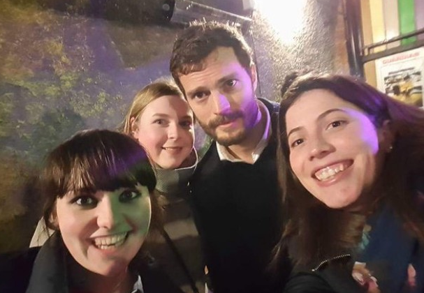 Jamie Dornan spends quality time with his fans in Ireland – how sweet?!