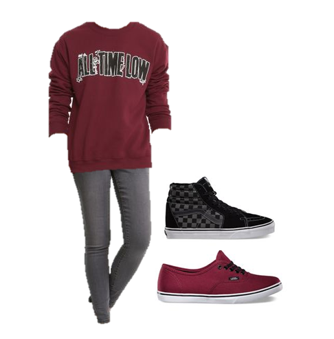 3fce2e7ea4d1 Maroon All Time Low Pull Over