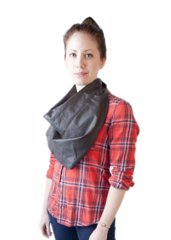 Bare Leather Scarves - #leather #fashion #scarves #trendy #unique #handmade #nyc #brooklyn #womens #accessories #natural #artisan #scarf #artissano #exclusive #plaid #hipster