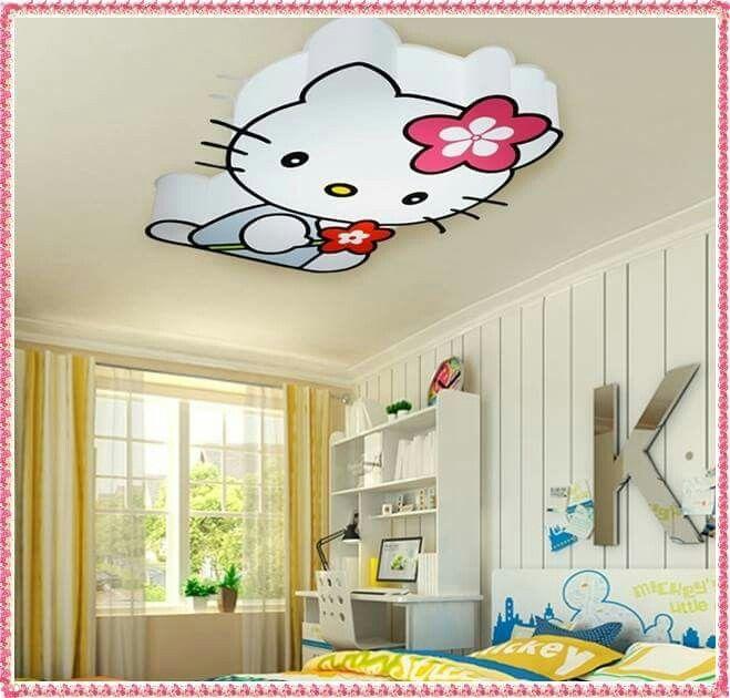 Enormt Kids room false ceiling designs | IDEAS FOR CEILING | Hello kitty ZL73