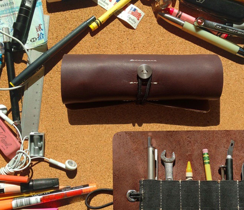 Geschenkideen Heimwerker Lovely Ledr Werkzeugrolle