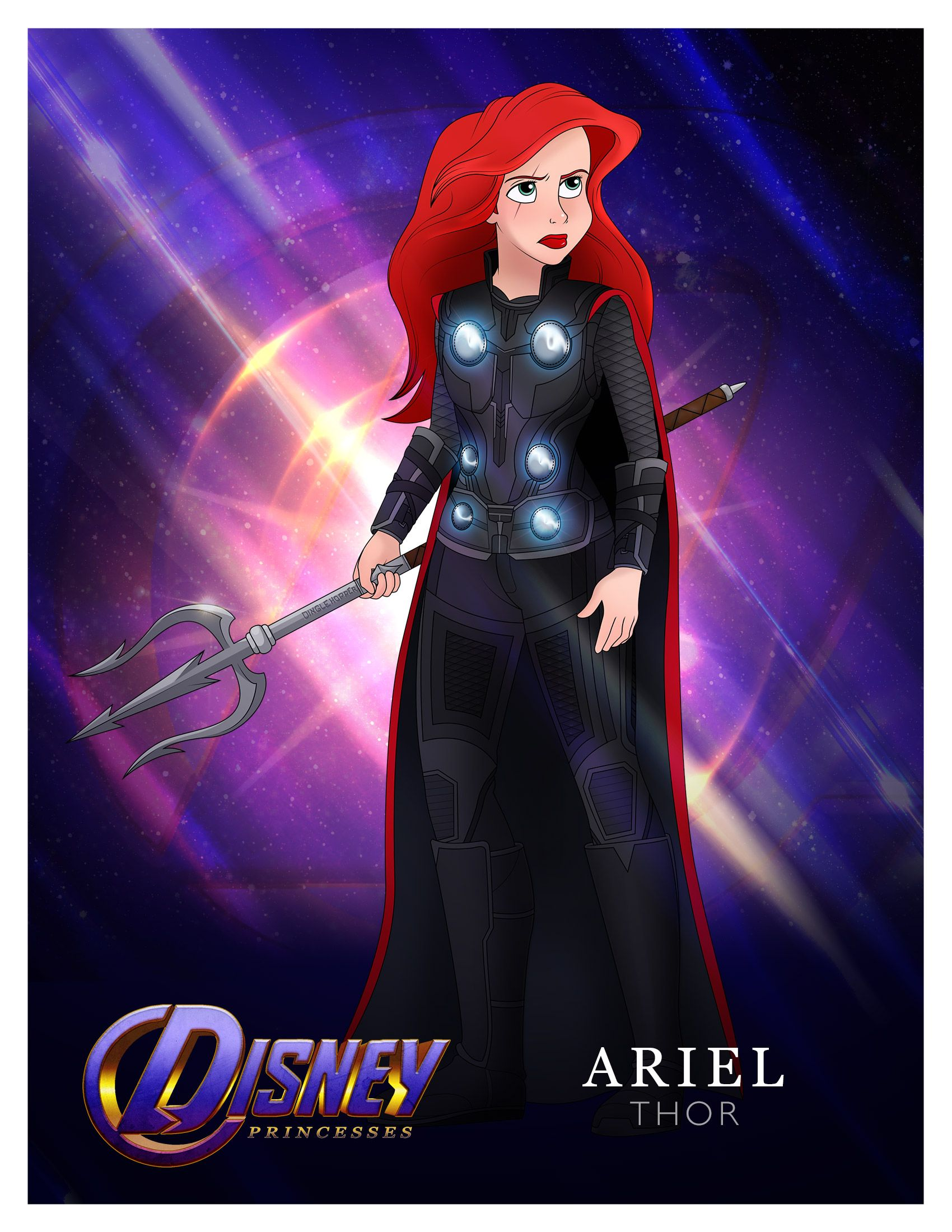 Princesses, Assemble! Disney Princess Avengers Mashup #disneyprincess