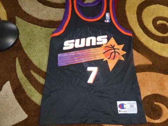4ef10695e Vtg Kevin Johnson Phoenix Suns NBA Champion Jersey Sz Men s 36 S in ...