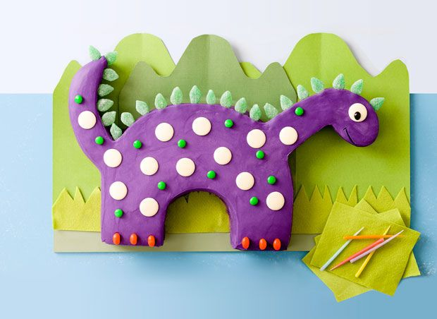 Crazy dinosaur cake Obed s favorites things Pinterest