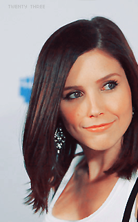 was obsessed with Sophia Bush on One Tree Hill. So