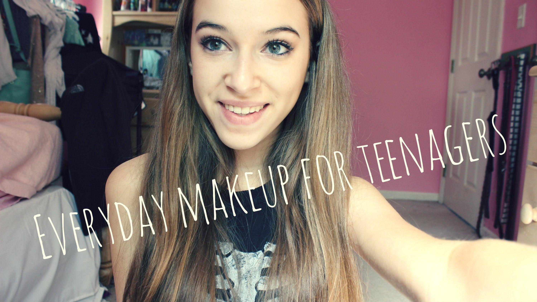 Simple Cute Teenage Makeup for School ) Teenage makeup