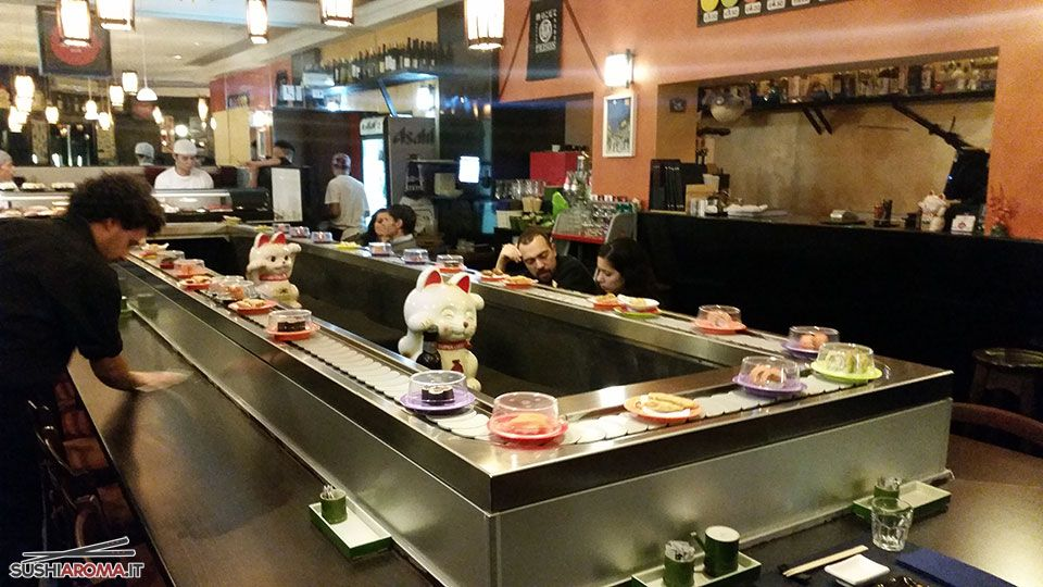 Foto del Kaiten Sushi di Sakana Sushi di Via del Gazometro, 54 | Roma