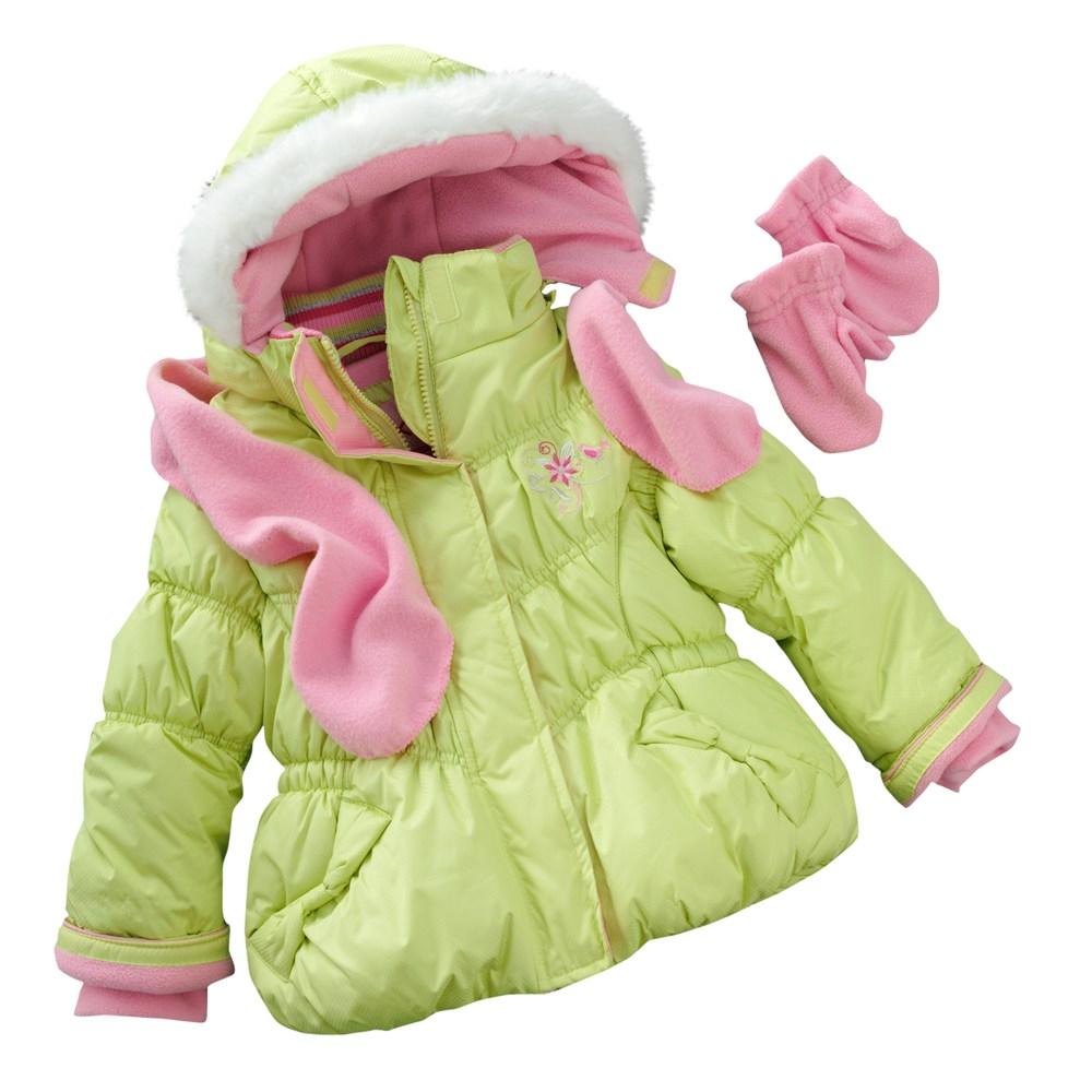 Zeroxposur Felicia Bubble Jacket Set Toddler Carter