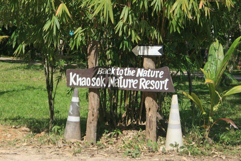 Tipp für eine Unterkunft im Khao Sok: Das Nature Resort, mit seinen Treehouse-Bungalows.
