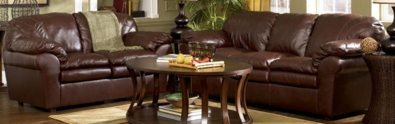 Superior Ashley Leather Couch And Loveseat