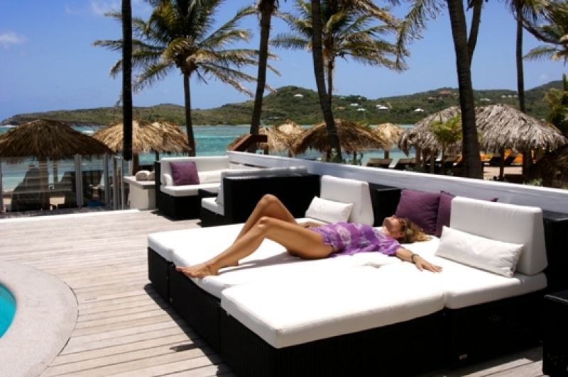 Lounging Around Like This Is Awesome St Barths Guanahani Hotel Http Www