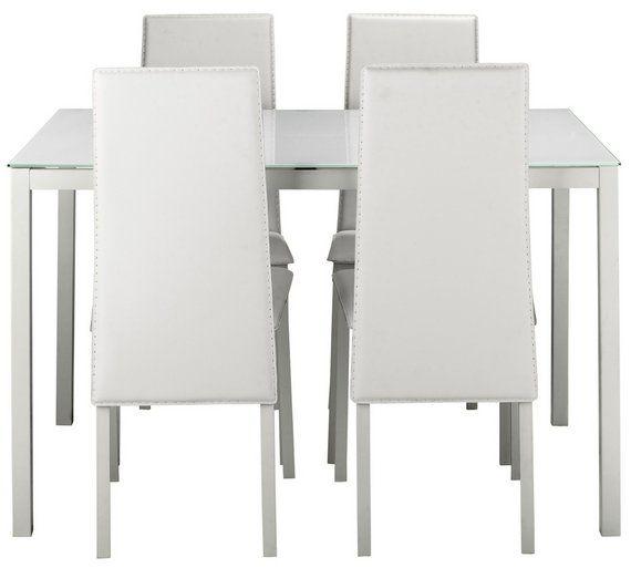 Download Wallpaper White Kitchen Chairs Argos