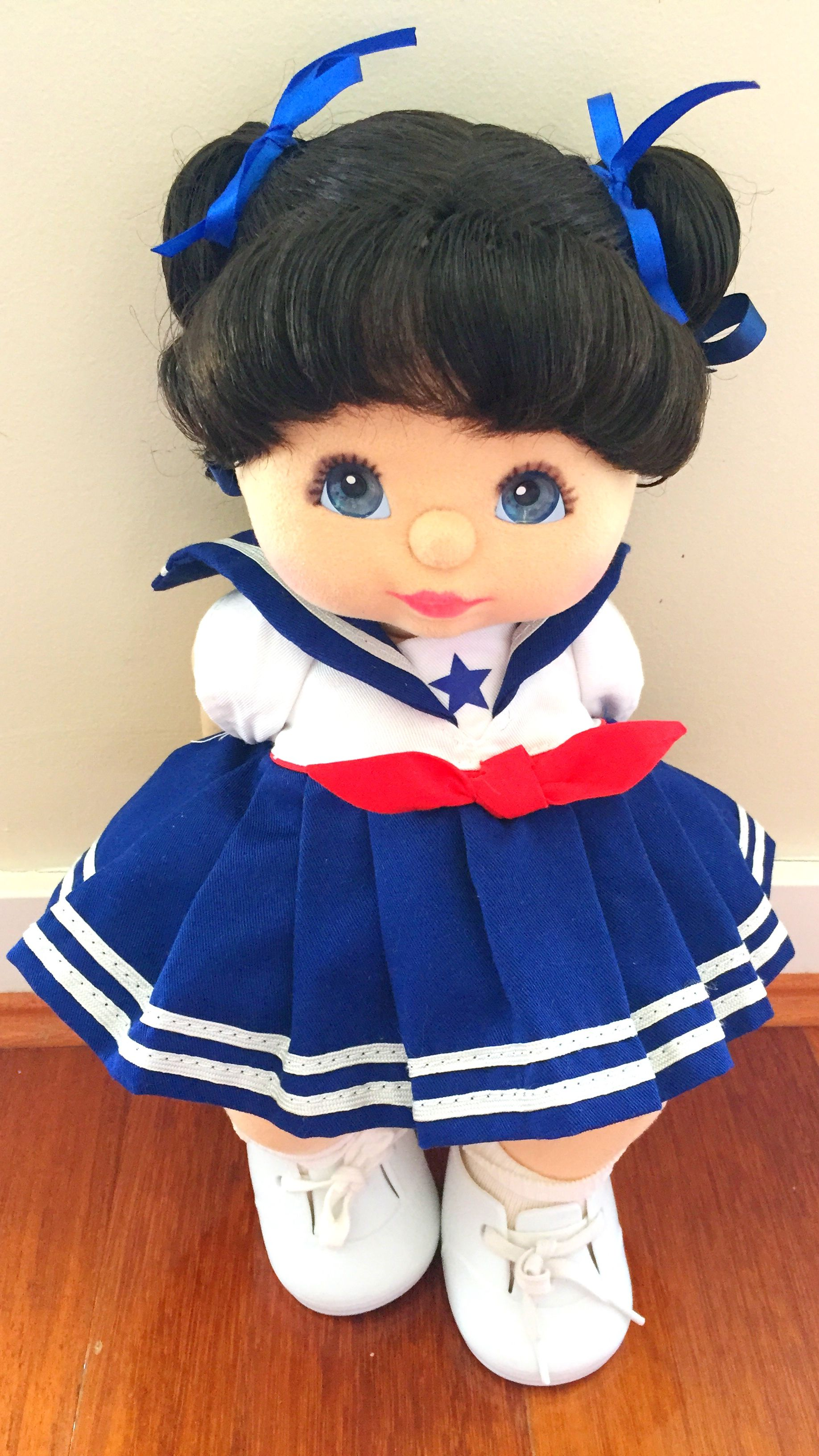 Bru double ribbons my child doll
