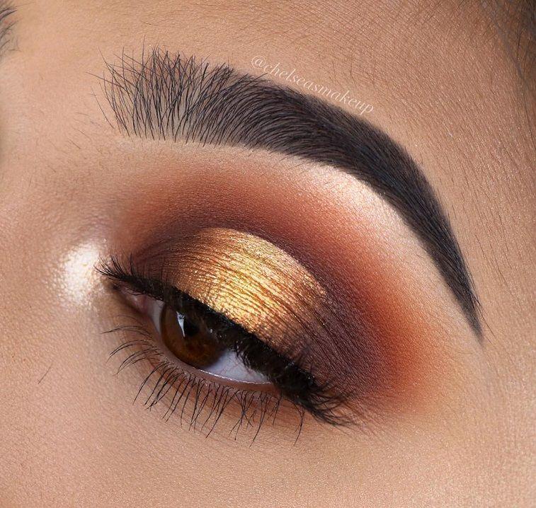 "74 Gorgeous Eye Makeup Looks For Day And Evening morphebrushes • 35M ""Boss Mood"" Palette  #makeup #eyemakeup #mua #beauty #eyeshadow"