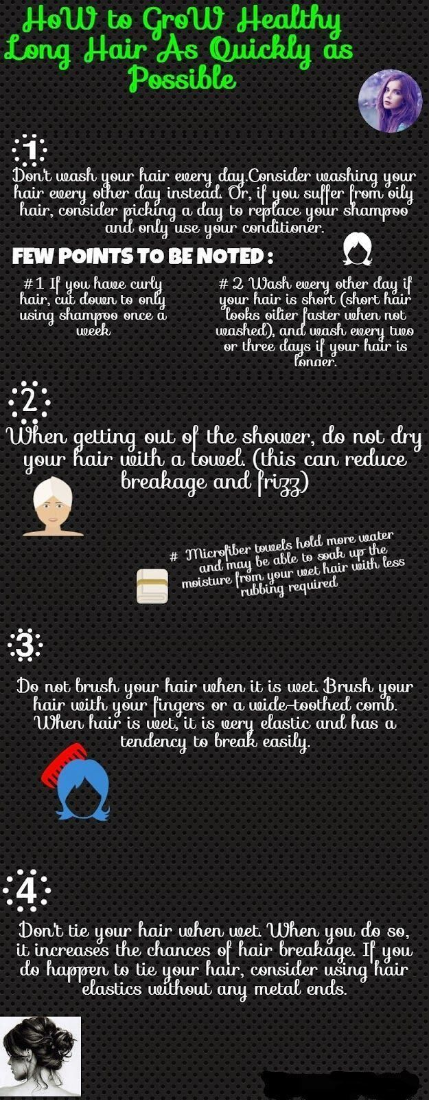 Consider the following tips on how to grow hair faster in order to make the most of your lovely locks and achieve the length you've always wanted.