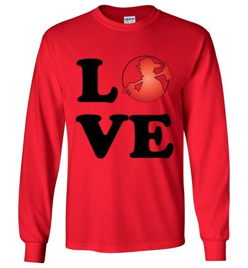 LOVE Fire Long Sleeve T-Shirt