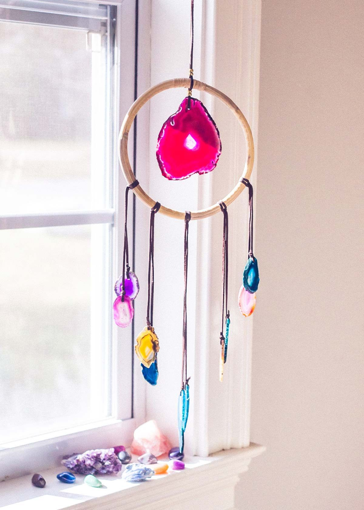 Aurora Dreams Wall Hanging Wall Hanging Dream Catcher Crafts
