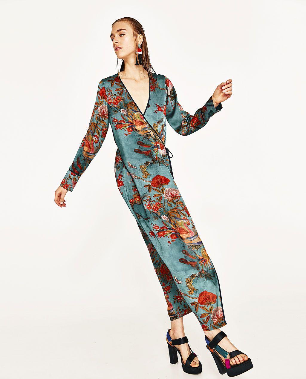 nuovo concetto 5818f a1667 VESTITO KIMONO STAMPATO | look per me | Vestito kimono ...