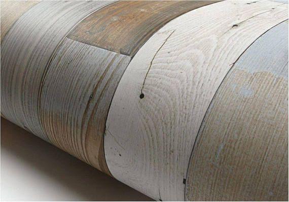 L Stick Backsplash Vintage Panel Wood Pattern Contact Paper Self Adhesive Removable Wallpaper