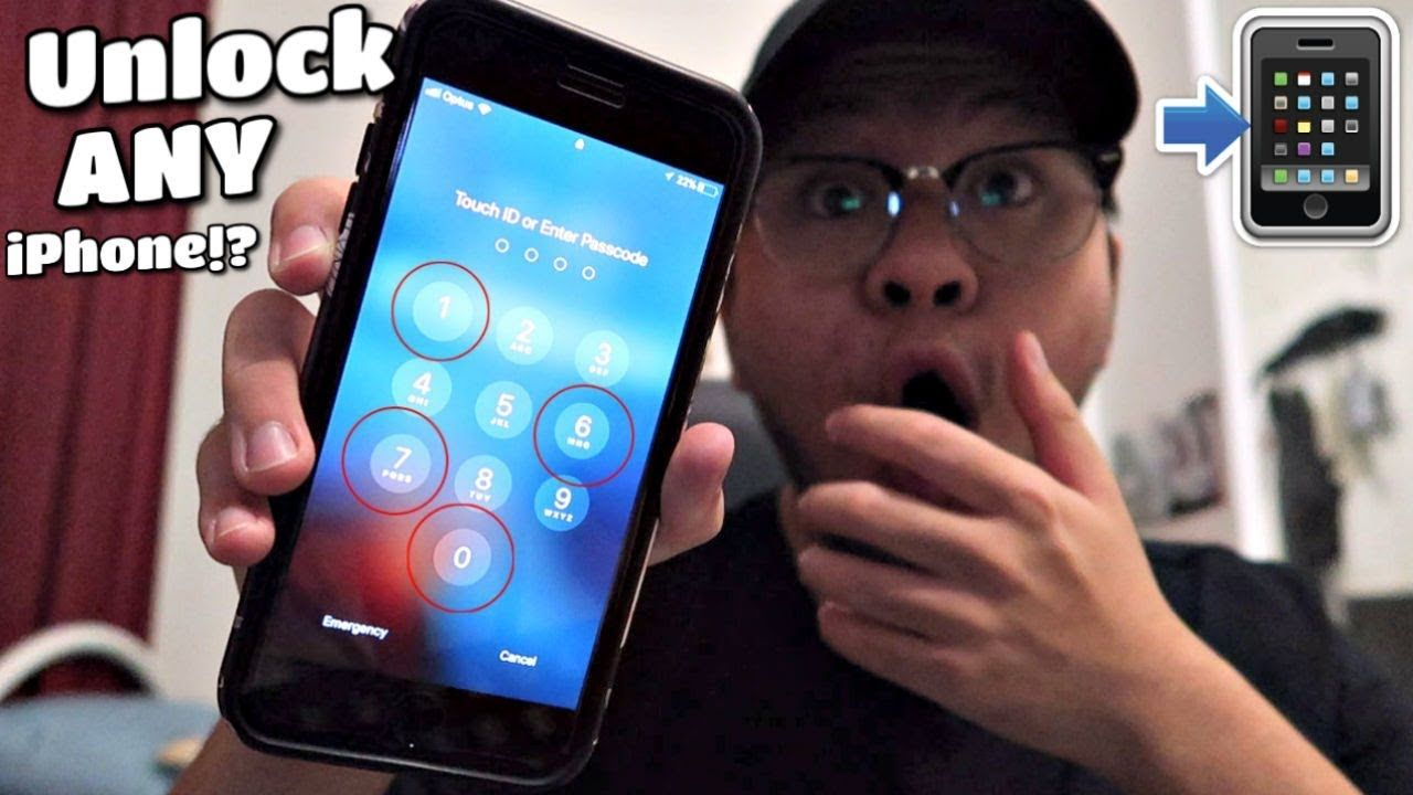 How to unlock every iphone without the passcode youtube