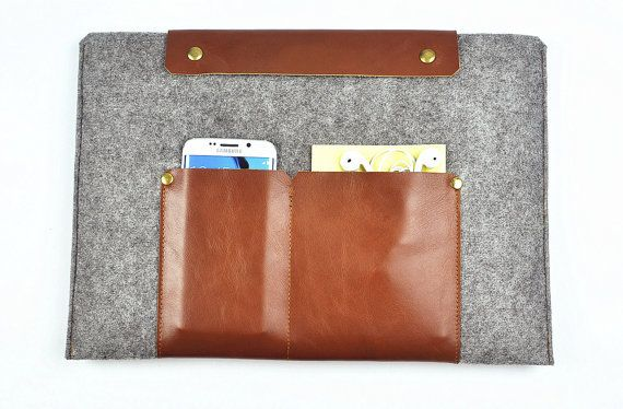 Dell Laptop Sleeve Leather Laptop Bag 11 6 18 4 Inch Case Dell 3000 7000 Series Felt Laptop Cove Leather Laptop Case Macbook Leather Leather Laptop Sleeve