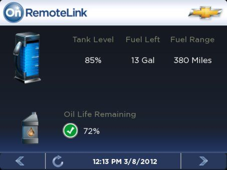 OnStar RemoteLink app for BlackBerry 10 released details