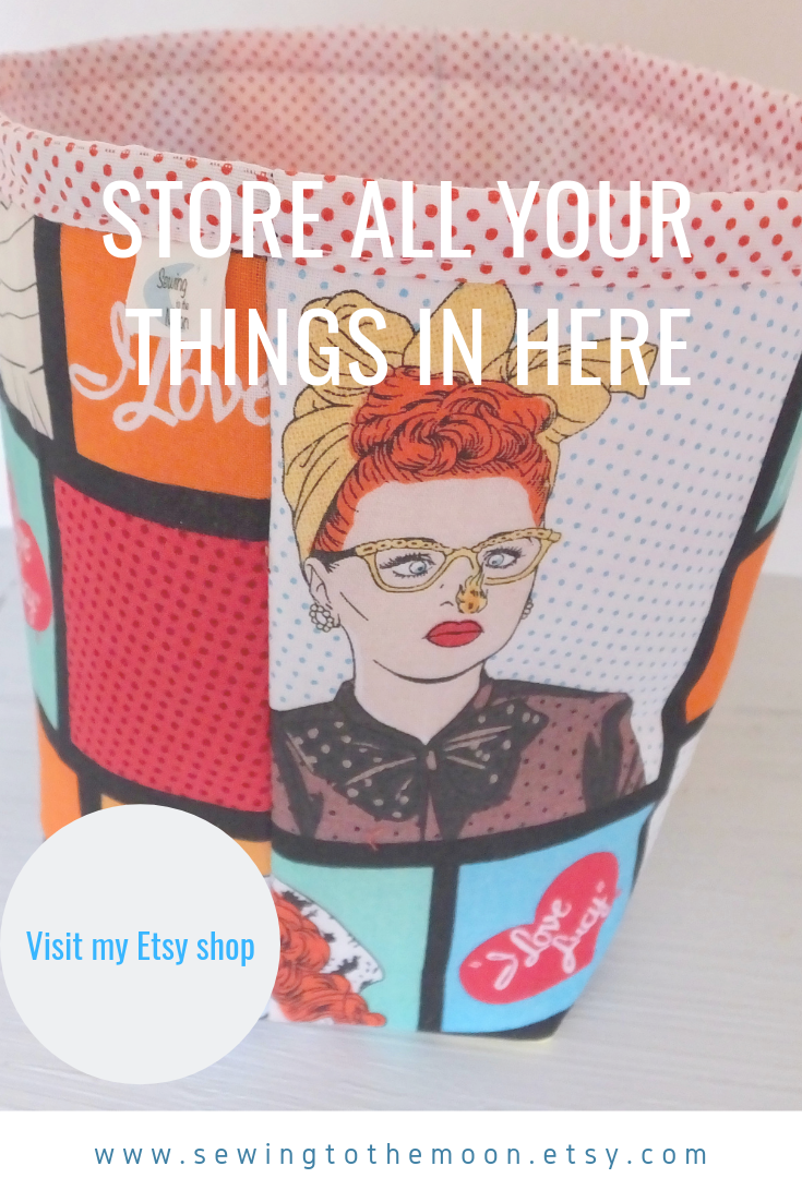 New I love Lucy to my Ethel makeup pouch in 2020 I love