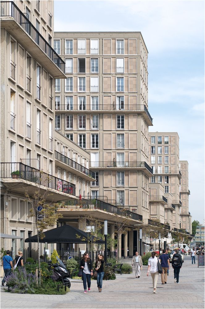 Le Havre, Frankreich, Auguste Perret Urbanisme, Le havre