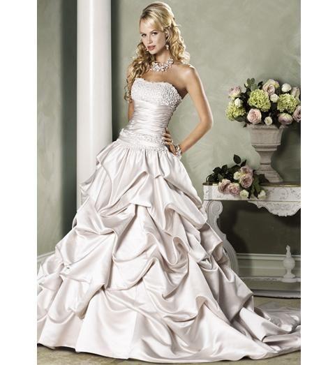 Beautiful Wedding Dresses With Images Wedding Dresses Satin