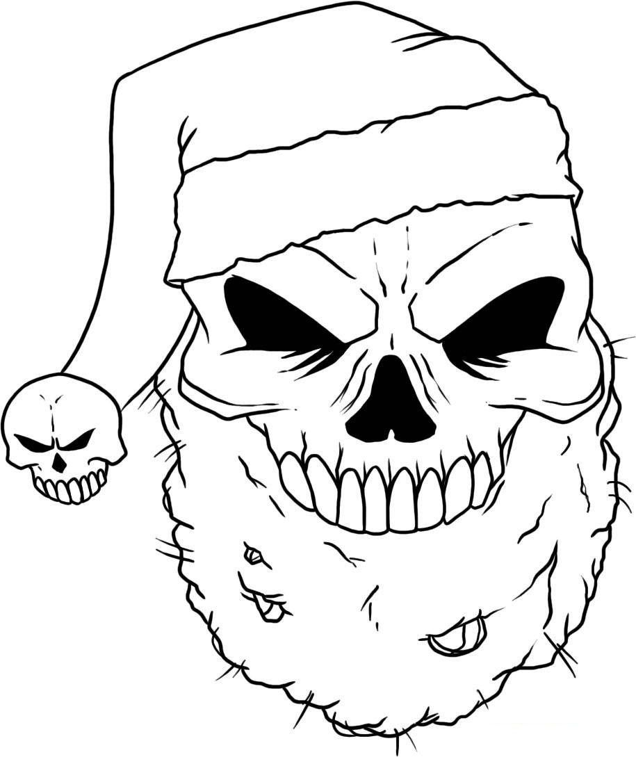 Sugar Skulls Coloring Pages Skull Coloring Pages Santa Coloring Pages Pumpkin Coloring Pages