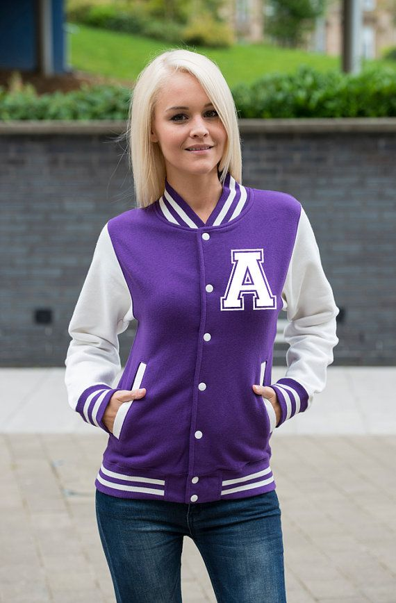 Custom Printed Women's Varsity Jacket - FREE Shipping ...