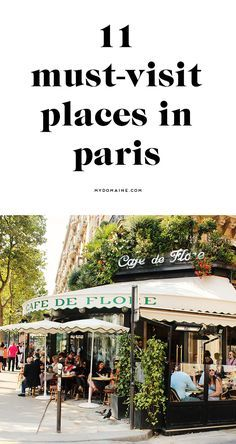 Cafe de Flore, first stop