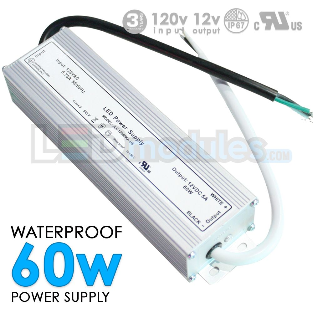 12v 60w Waterproof Power Supply Led Power Supply Power Supply Waterproof