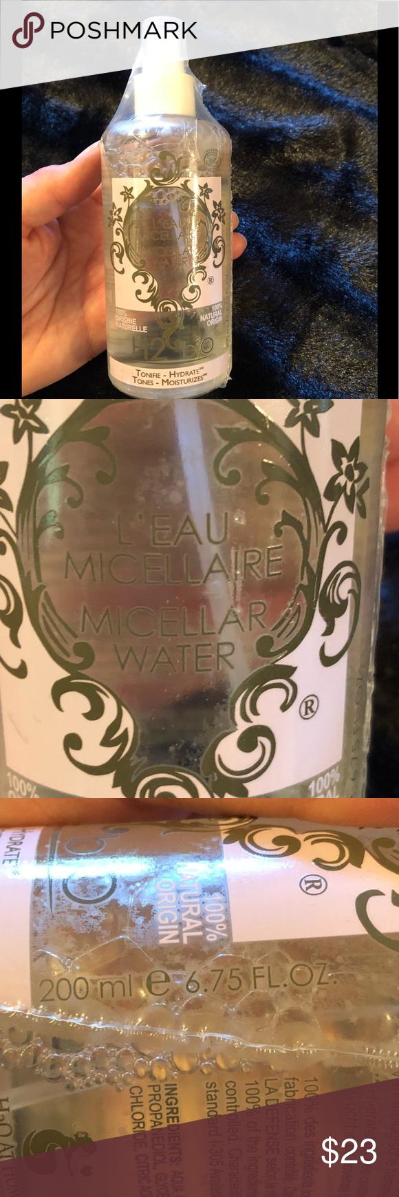 H2O At Home Micellar water NEW Micellar water, Micellar