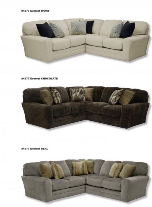 Jackson Catnapper Everest sectional in the color   ...  sc 1 st  Pinterest : catnapper sectional sofa - Sectionals, Sofas & Couches