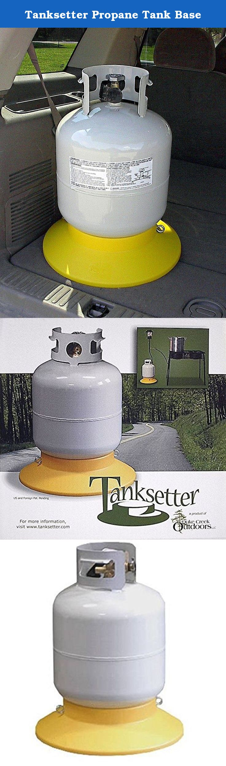 Tanksetter Propane Tank Base The Tanksetter Propane Tank Base Is An Inexpensive Way To Easily And Safely Transport Your Propane Propane Tank Propane Durable