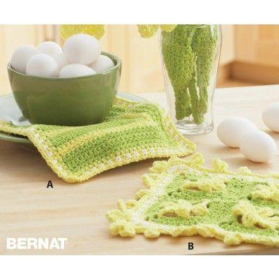 Daffodil Crochet Dishcloths | Crochet - For the Home | Pinterest ...