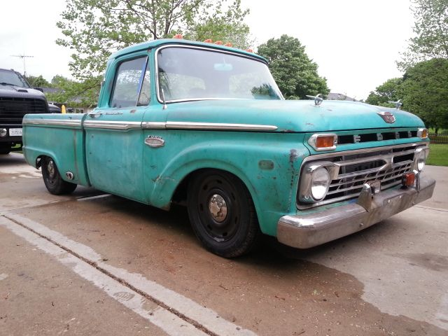 66 Ford F100 & 2004 Crown Vic body swap - Page 3 | Old fords
