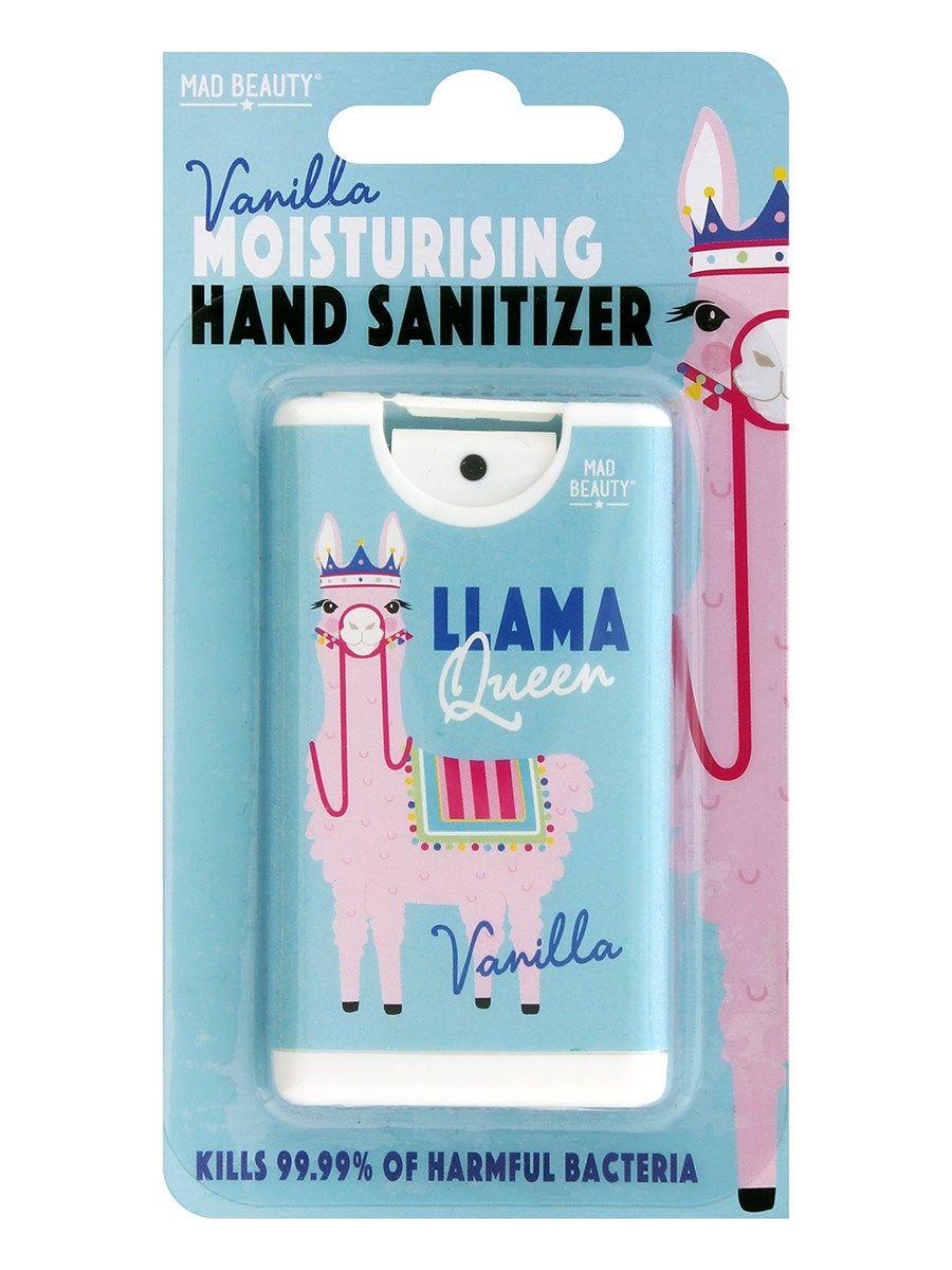 Llama Queen Moisturising Hand Sanitizer Vanilla Scent Hand